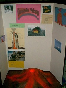 Hobbyscience volcano project 2003